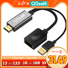 QGEEM HDMI TO DisplayPort Adapter 4K HDMI TO DP Cable HDTV Adapter Converter Male to Female Support 1080P for HDTV HDMI TO DP