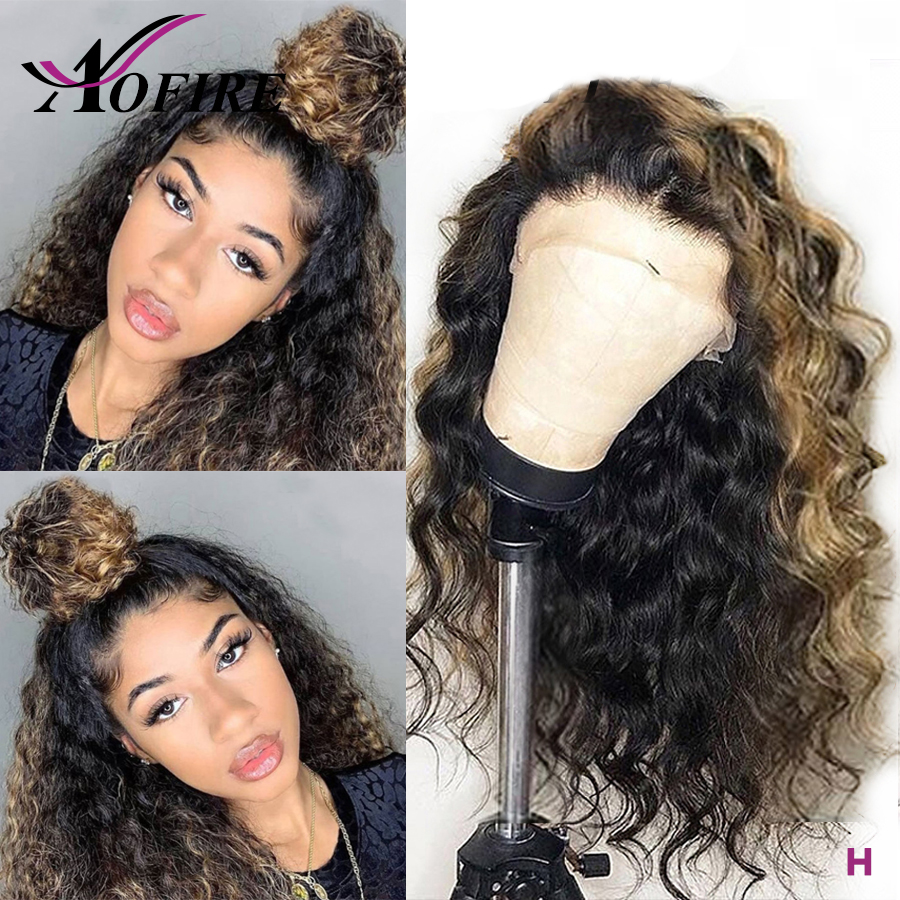 613 Blonde Lace Front Wig 180 Density Brazilian Remy 13x6 Kinky Curly Lace Front Human Hair Wigs For Women 360 Lace Frontal Wig