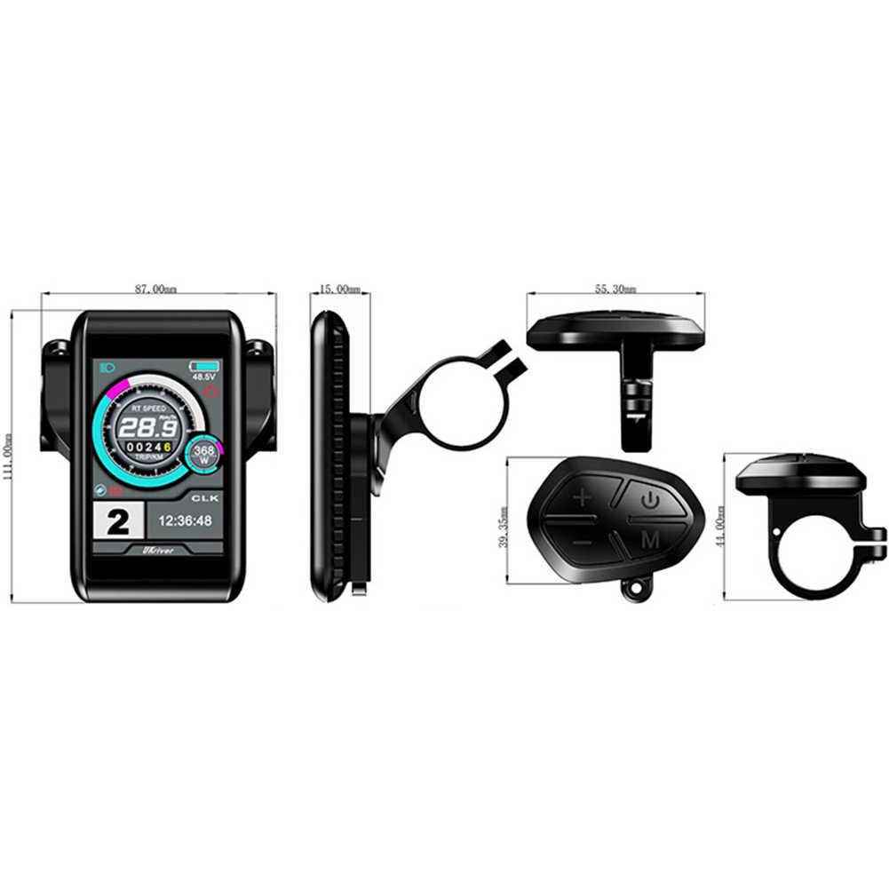24-72V UKC-1 дисплей метр/панель управления для электровелосипеда/велосипеда управления Спидометр части электровелосипеда