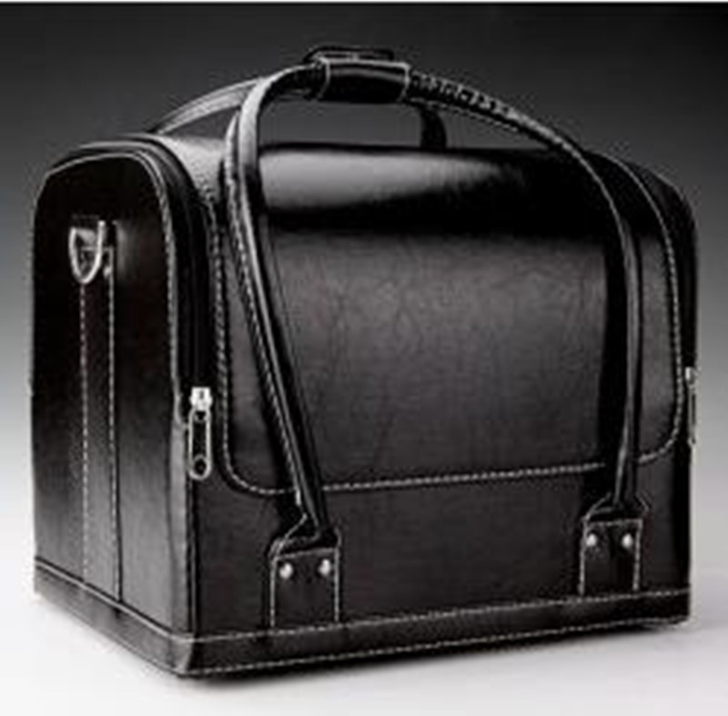 Close-Up Leather Bag - Magic Tricks Amazing Stage Magic Accessories Gimmick Magicians Carrying Bag Magic Varied Props Mentalism
