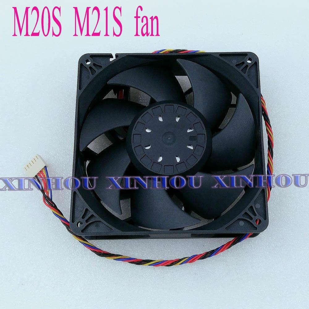 BTC BCH Bitcoin Miner Fan Cooling 14cm Fan for ASIC miner WhatsMiner M20S M21S 1