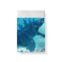 купить Godzilla Bed Sheet Bed Linen Poplin Posciel Cotton Twin Size Bedding Couple Single Euro Kids Twin Xl Bedding Ropa De Cama Queen дешево