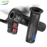 Electric Bicycle/Scooter/Motorcycle Speed Gas Handle/Throttle/Accelerator 12V 24V 36V 48V 60V 72V 84V Throttle Grip Cycling|Electric Bicycle Accessories| |  -