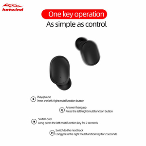 Image 5 - TWS A6s Auriculares Bluetooth 5.0 Mini Headset for Redmi Airdots True Wireless Earbuds Running Earphone for Samsung Mi Air Dods