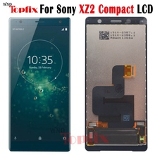 """100%Tested 5.0""""Inch LCD Display Touch Screen Digitizer For Sony Xperia XZ2 Compact LCD Replacement Parts For Sony XZ2 Mini LCD"""