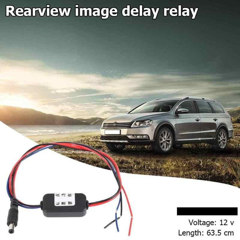 Fil noir de filtre de relais de minuterie de retard de caméra de vue arrière de voiture pour VW Passat Touran Jetta compacte et portative portent commode