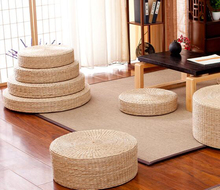 Rattan tea ceremony worship Buddha pad meditation thickening pupa sitting futon cushion tatami yoga mat