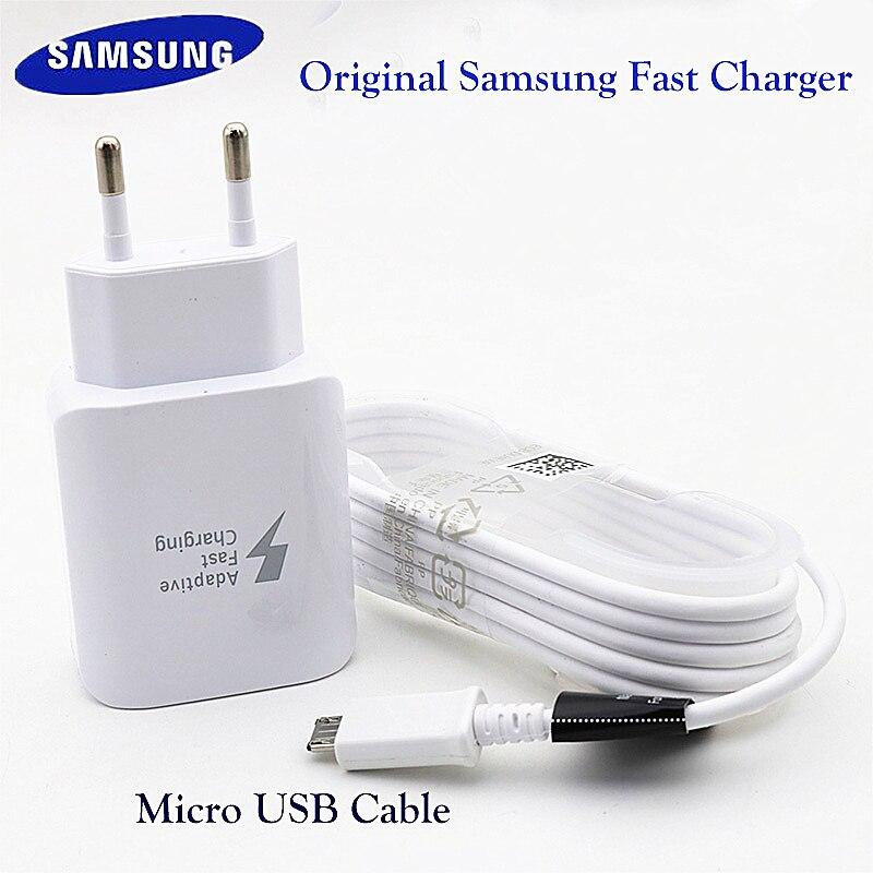 Оригинальный планшет SAMSUNG, быстрое зарядное устройство для GALAXY S 6 7 Edge Tab A T550 T555C P550 Tab A T350 T355C P350 P355C Tab 3 P5200 P5210 Зарядные устройства      АлиЭкспресс