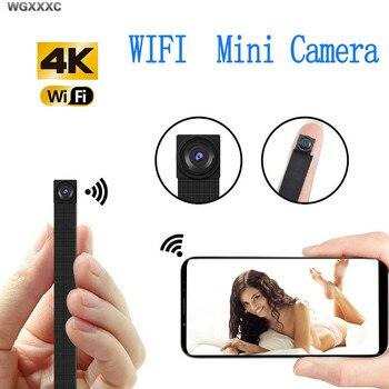IP WIFI Camera HD 4K Mini WIFI Flexible Camera IP Network Webcame Video Audio Recorder Motion Detection Camcorder P2P Micro Cam