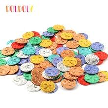 Новые блестящие идеи звезды Пластиковые монеты награды для учителей