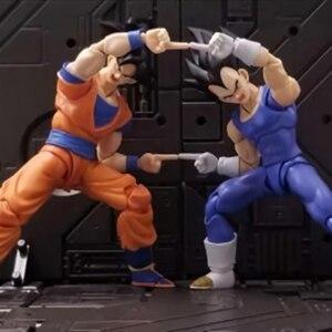 Tronzo Dragon Ball Super SHF Goku Vegeta Replace Hands Accessories DBZ Fusion Action Figure Model Toys Gifts Dropshipping(China)