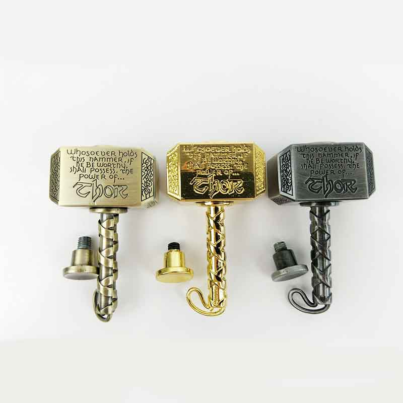 New Thor Hammer Metal Fidget Spinner Retro Hand Spiner Zinc Alloy Stress Reliever Voor Autisme En ADHD Kid Kerstcadeau Toys Gift