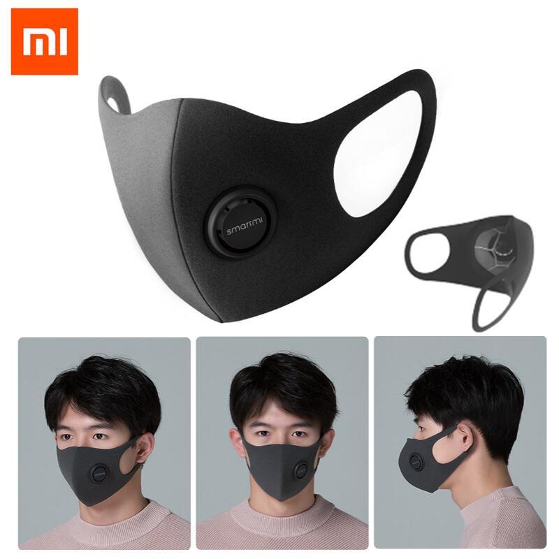 Xiaomi Mijia SmartMi PM2.5 Haze Mask Anti haze Face Mask Adjustable Ear Hanging 3D Light Breathing Mask or Ardor 3D Eye Mask Smart Remote Control     - title=