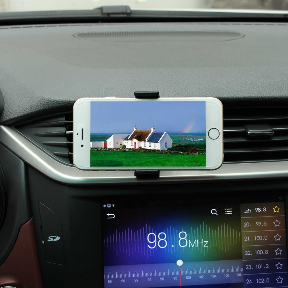 โทรศัพท์ผู้ถือโทรศัพท์มือถือยืน Outlet สำหรับ Kia Sorento Nissan X-Trail T32 Lifan x60 Kia rio 3 4 Renault Nissan