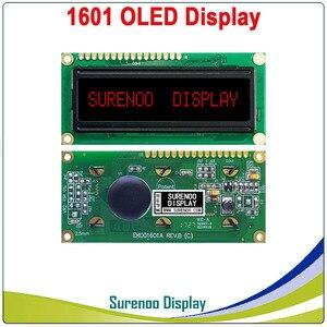 Image 4 - Pantalla OLED Real, pantalla de módulo LCD paralelo de 1601 caracteres LCM, WS0010 incorporado, compatible con Serial SPI