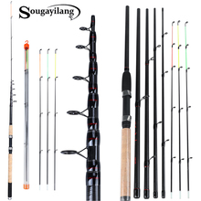 Sougayilang 3 0M 3 3M 3 6M L M H Power Feeder Fishing Rod Spinning with Free Accessories Travel Rod De Pesca Carp Feeder Pole cheap Ocean Rock Fshing Carp Fishing Rod Carbon HARD