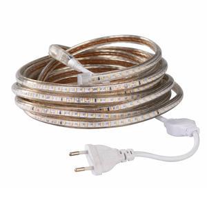 Image 5 - 超高輝度 Led ストリップ 220 12V IP67 防水 120 Led/M Smd 3014 柔軟な光 + 電源プラグ屋外ガーデンテープロープ