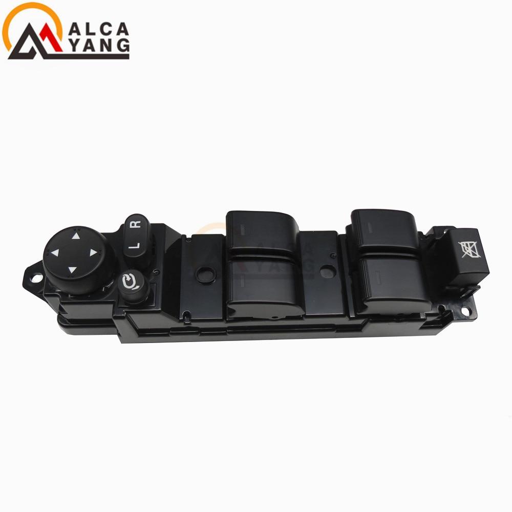 Malcayang NOVA Alta Qualidade interruptor da janela de Poder GS1E-66350A GS1E 66350A GS1E66350A A6 GS1E-66350 para Mazda 1.8 2.0 2.2 2.5