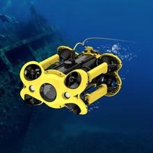 Camoro + RC + Подводный + Drone + с + 4K + UHD + Camera + и + Gps + Rov + Robot + Large + Емкость + аккумулятор + для + дайвинга + рыбалки