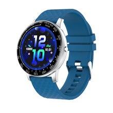 Новинка черные серебристые металлические Смарт часы с цветным