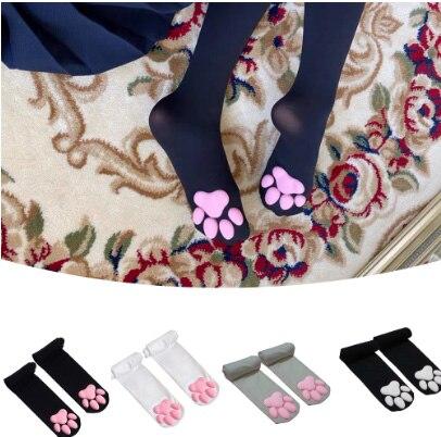Новинка; Обувь с принтом «кошачий коготь» Носки для Для женщин и девочек; Kawaii; 3D кошка палец с когтем шапочки милый подарок в стиле
