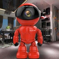 Беспроводной робот WIFI 1.0MP камера IP P2P CCTV камера детский монитор наблюдения HD H.264130MP объектив ИК Ночное Видение для Android или IOS