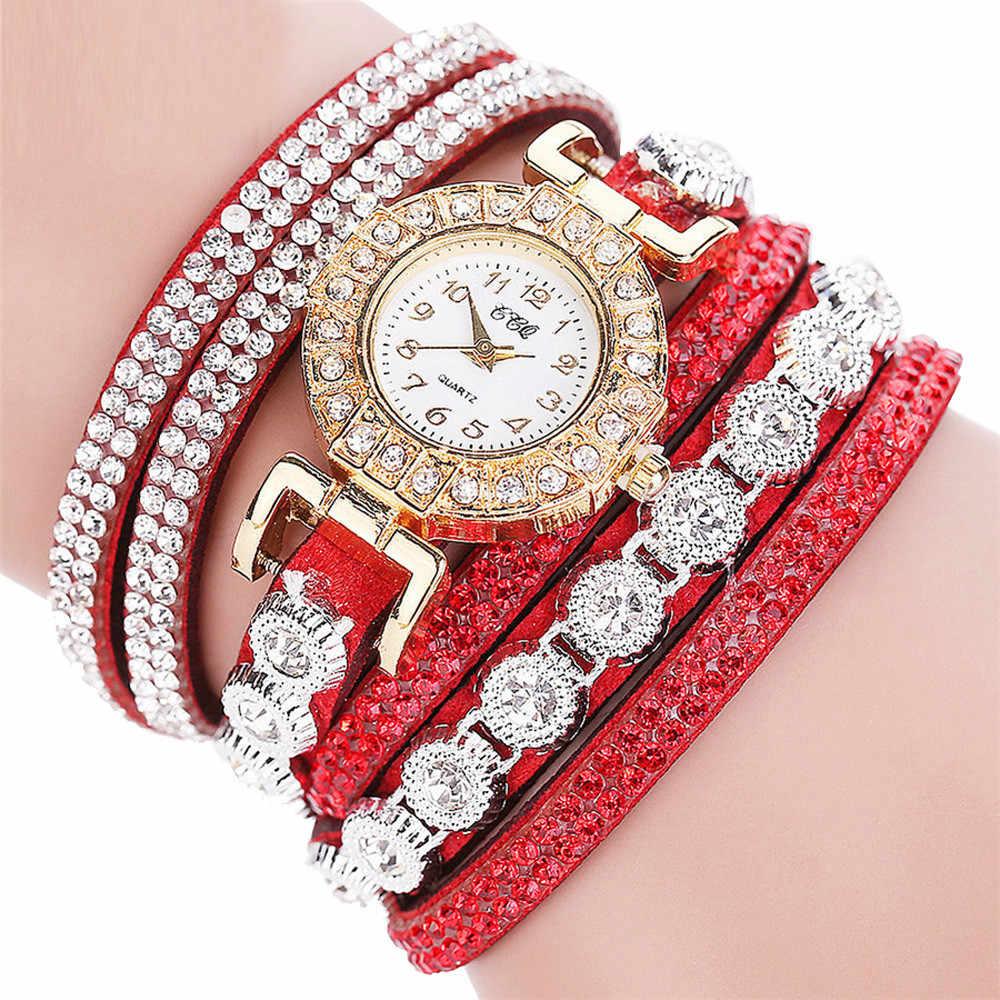 Роскошные женские часы модные кварцевые часы ремешок браслет циферблат платье Аналоговые наручные часы женские часы montres femmes Reloj Mujer