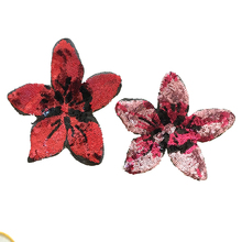 Sequins Flower Sew on Patches for Clothes T-Shirt DIY Decal