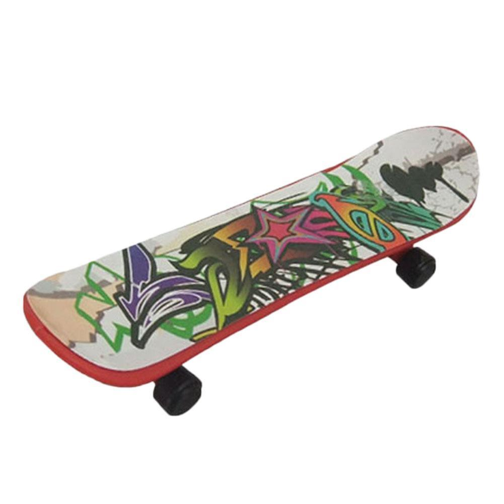 1pc Mini Finger Skateboard Kids Toys Professional Type Bearing Fingerboard Toys Random Gift Wheels Color For Children L9H0