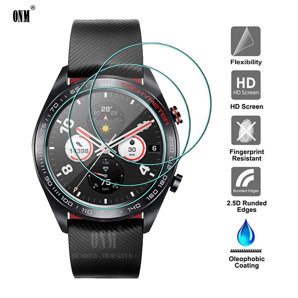 9H Premium Tempered Glass For Huawei Honor Magic Watch 2 GT 2 2E 42mm 46mm Screen Protector Explosion-Proof Film Accessories