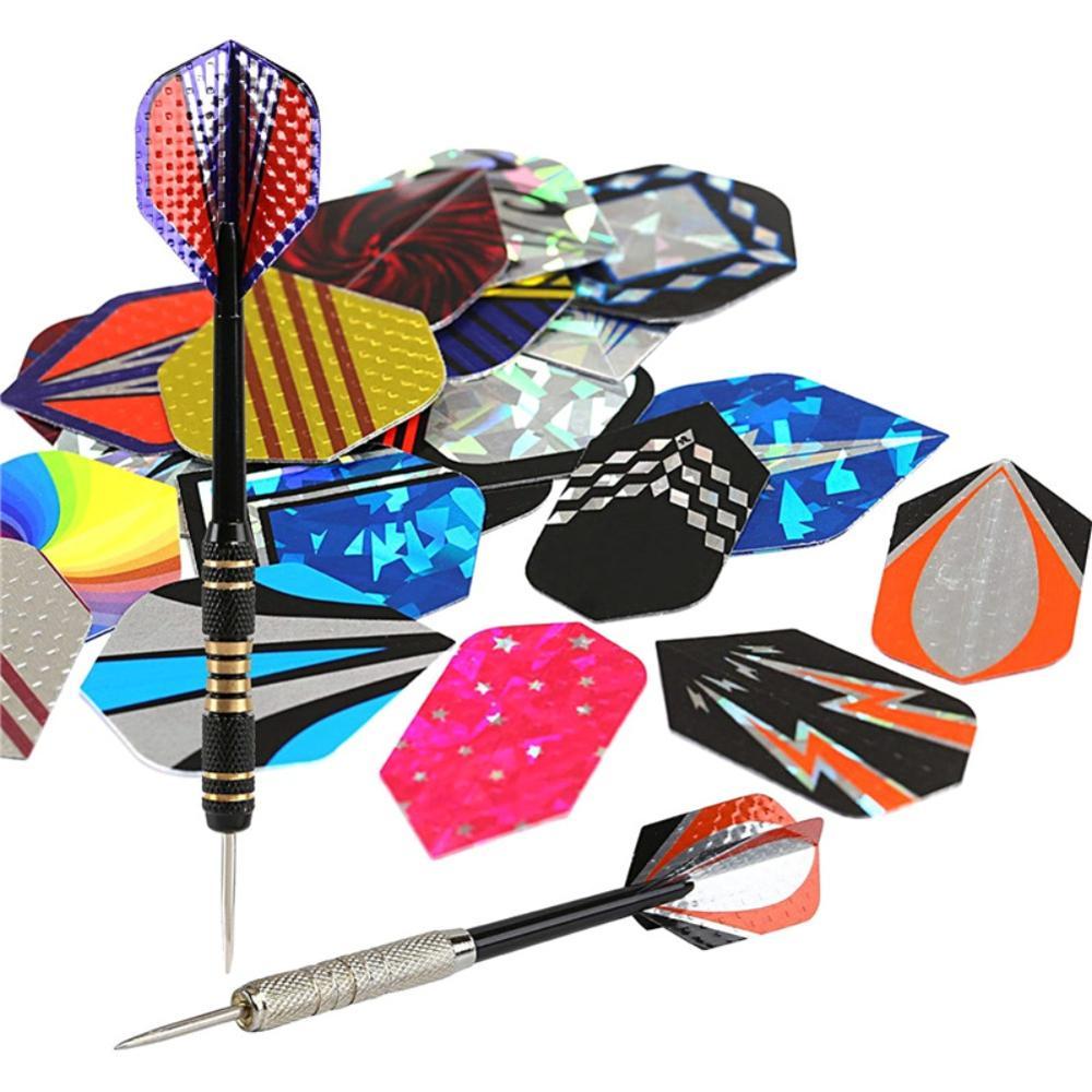 Professional Dart Flights Set Dartboards Game Accessory Colorful Darts 30//60pcs