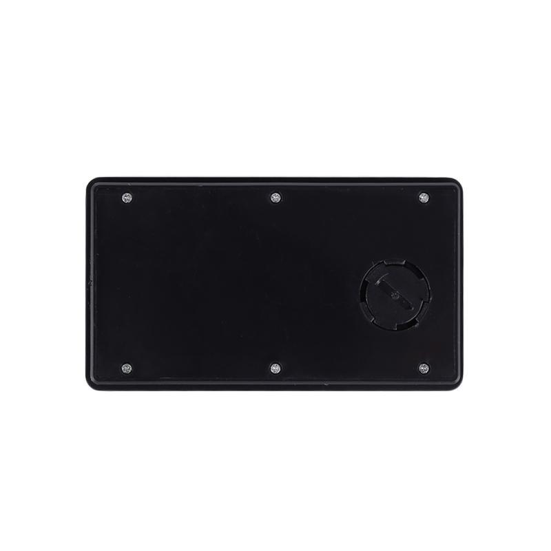 Portable Mini Digital Car Electronic Clock Car Electronics cb5feb1b7314637725a2e7: Black