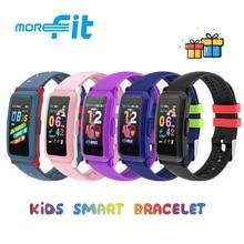 Morefit 907 Kids Smart Watch 1.08 Inch OLED Screen Waterproof Children Smart Bracelet Heart Rate Blood Oxygen Fitness Wristband