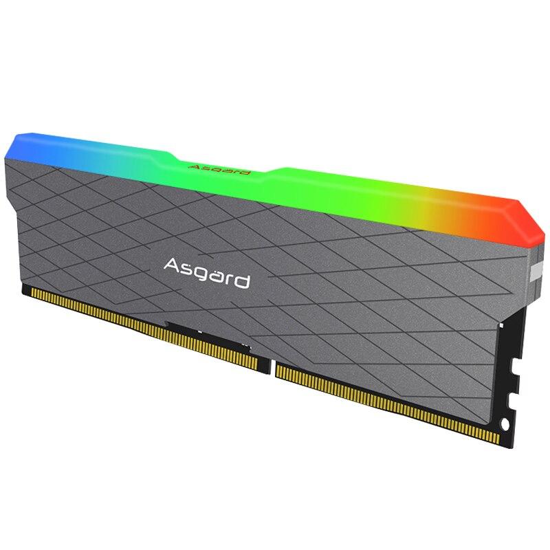 Asgard Loki w2 RGB 8GB * 2 3200MHz DDR4 DIMM 288 broches XMP Memoria Ram ddr4 ordinateur de bureau de mémoire Ram pour jeux d'ordinateur double canal - 3