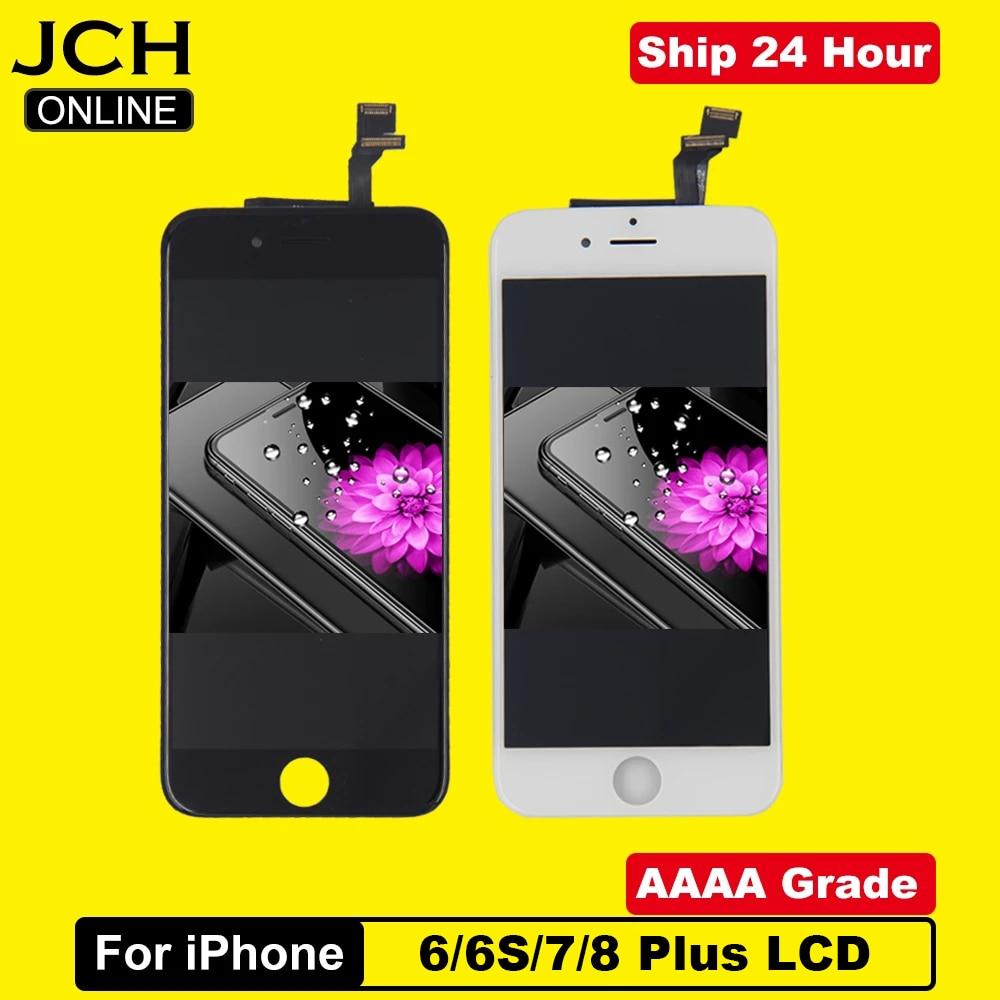 ЖК-дисплей класса AAAA для iPhone 6, 6S, 6Plus, 6S Plus, с идеальным 3D сенсорным экраном, дигитайзер в сборе для iPhone 6S, 7, 8, дисплей Pantalla
