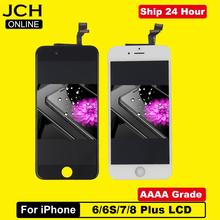 Wyświetlacz LCD Pantalla z Digitizerem do iPhone #8217 a klasa AAAA idealny dotyk 3D podzespoły dla modeli 6s 7 8 tanie tanio CN (pochodzenie) Pojemnościowy ekran 1920x1080 3 For iPhone 6 6P 6S 6S Plus LCD LCD i ekran dotykowy Digitizer Apple iphone