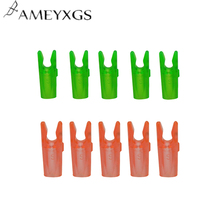 50 Pcs / Lot Archery 3.2mm Pin Nock S Number Plastic Arrow For Outdoor Hunting Shooting Accessories