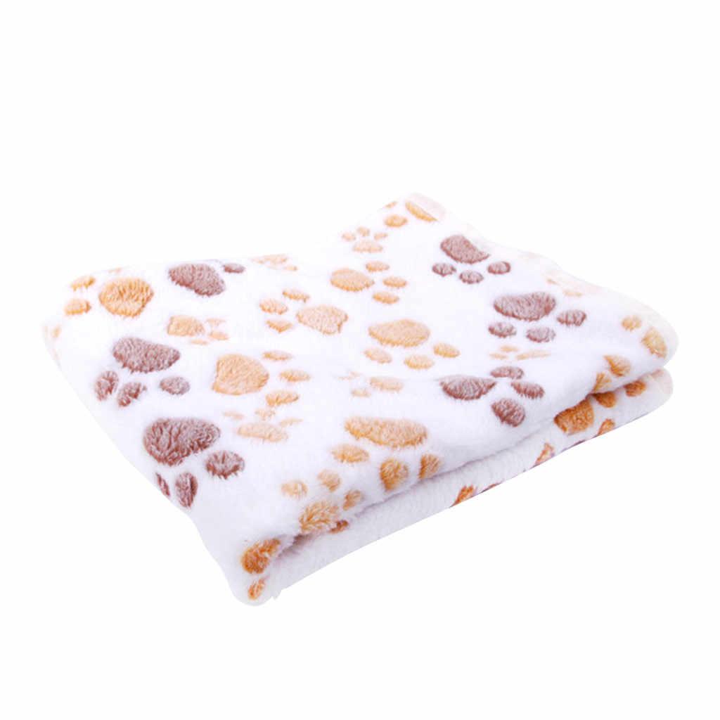 고양이 발톱 발톱 개 수건 애완 동물 고양이 수건 깔개 따뜻한 수건 담요 잠자는 수건 산호 양털 담요 미끄럼 방지 흡수 슬리핑