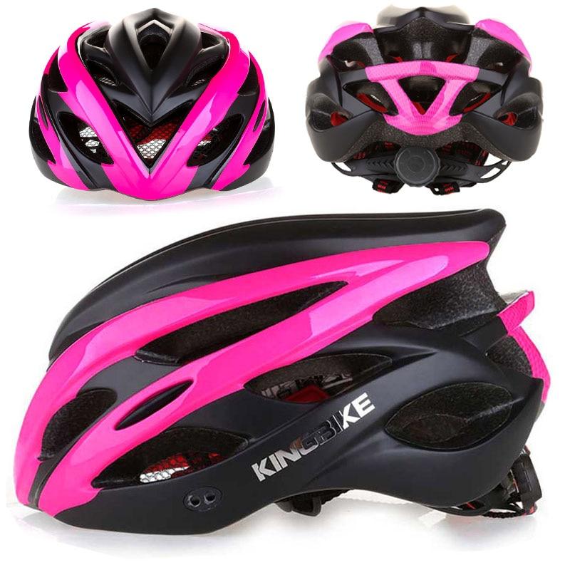PINK Matte Bicycle Cycling Helmet In-mold Bike Helmet casco bicicleta hombre MTB Sport Protective Helmet CE casco ciclismo