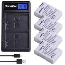 Durapro EN-EL14a EN-EL14 EL14 バッテリー + 液晶 usb 充電器ニコン用 D5600 、 D5500 、 D5300 、 D5200 、 d5100 、 D3200 、 D3300 、 P7800 、 P7700 、 P7100