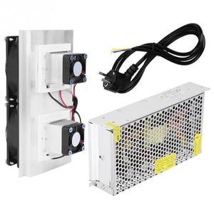 220 В ЕС полупроводниковое охлаждение Термоэлектрический охладитель радиатор воздушного охлаждения DIY мини холодильник система охлаждения ...