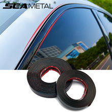 Chrome Styling Moulding Trim Strip Car Door Protector Strips Auto Window Mirror Bumper Anti collision Car Body Decorative Trim