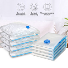 Clothes Air Vacuum Bag Sealer Quilt Organizer Storage Packaging Home Border Folding Compressed Travel Space Saving Accessory