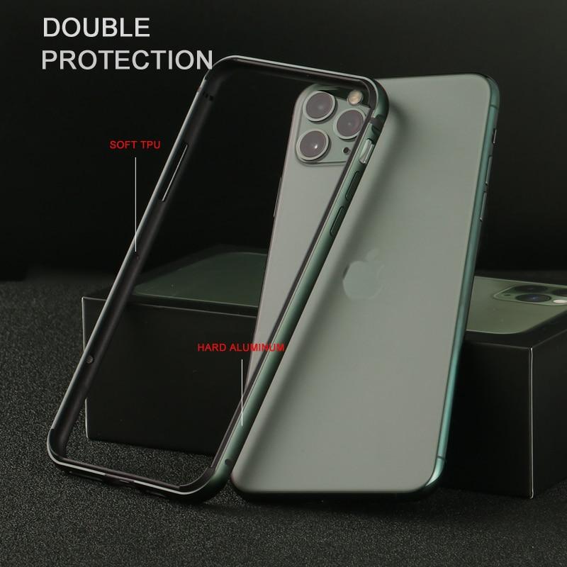 CAPSSICUM Metal Bumper Case for iPhone