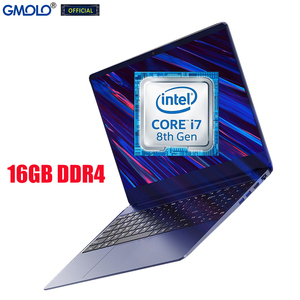 GMOLO 15.6 gaming laptop computer 16GB DDR4 1TB SSD core I7 8th Gen quad core Geforce MX250 dedicated metal notebook PC