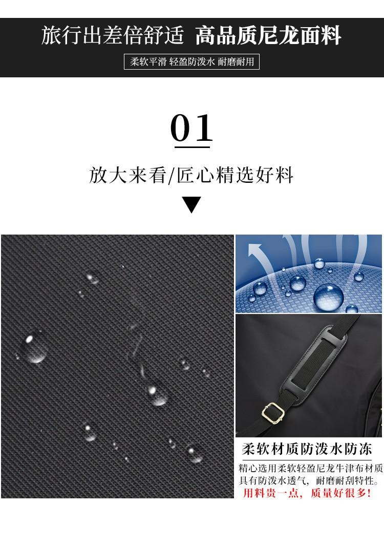 qualidade náilon à prova dwaterproof água bolsa