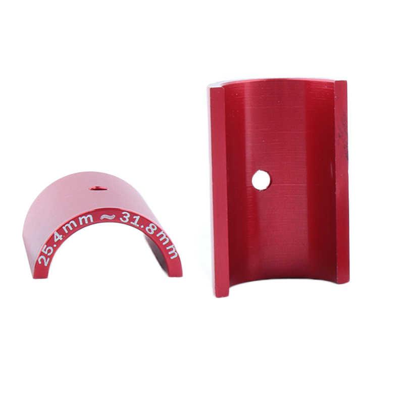 2pcs Bicycle Handlebar Bar Shim Spacer Stem Reducer 25.4mm To 31.8mm RED