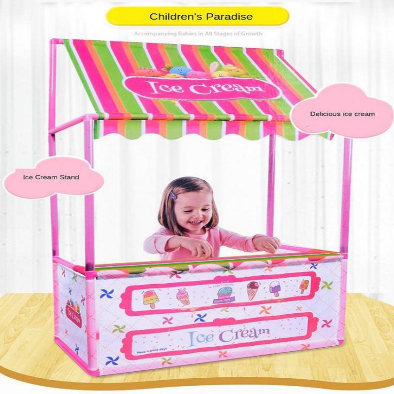 Enfant crème glacée Playhouse tente magasin développement apprentissage intérieur extérieur amusant