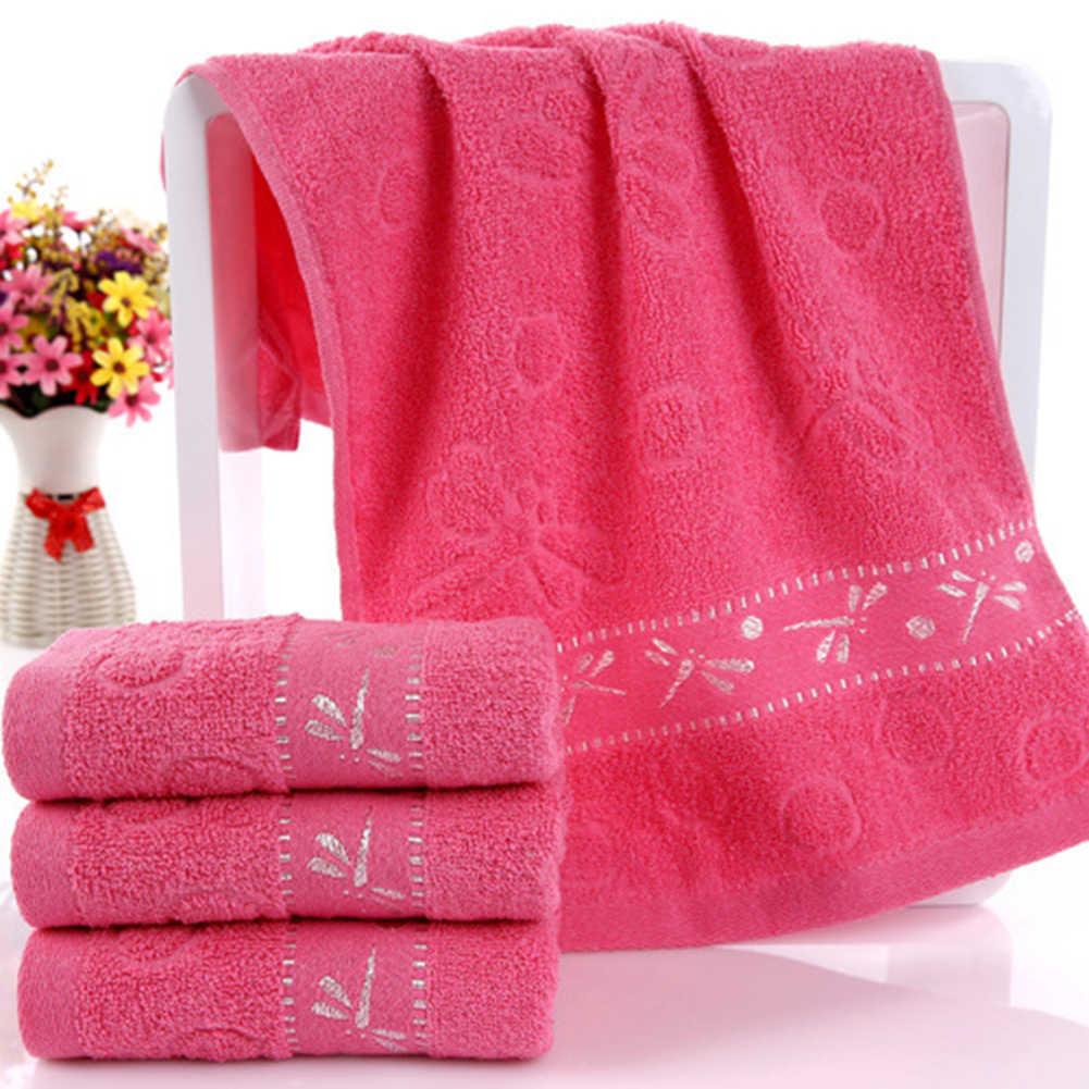 33x73cm libélula de alta absorción de agua de lavado de ducha de baño de algodón suave Toalla de baño para adultos hombres mujeres de secado rápido