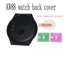 Original kingwear kw88 Smart Accessories For KW88 watch back cover High Quality original black Color kw88 smart watch back cover(China)